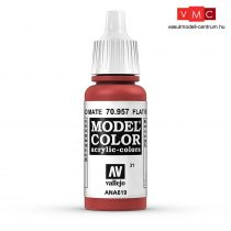 Vallejo 70957 Flat Red - 17 ml (Model Color) (31)