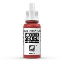 Vallejo 70957 Flat Red - 17 ml (Model Color) (31)