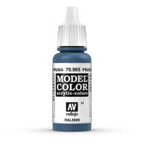 Vallejo 70965 Prussian Blue - 17 ml (Model Color) (51)