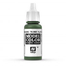 Vallejo 70968 Flat Green - 17 ml (Model Color) (83)
