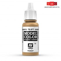 Vallejo 70977 Desert Yellow - 17 ml (Model Color) (125)