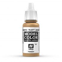 Vallejo 70977 Desert Yellow - 17 ml (Model Color) (125)