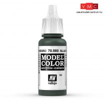 Vallejo 70980 Black Green - 17 ml (Model Color) (100)