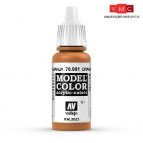 Vallejo 70981 Orange Brown - 17 ml (Model Color) (131)