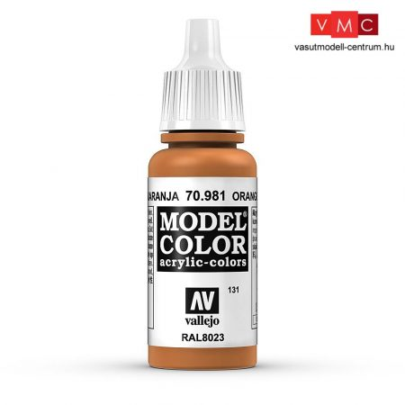 Vallejo 70981 Orange Brown - 17 ml (Model Color) (131)