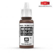 Vallejo 70984 Flat Brown - 17 ml (Model Color) (140)