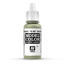 Vallejo 70987 Medium Grey - 17 ml (Model Color) (111)