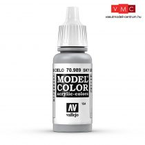 Vallejo 70989 Sky Grey - 17 ml (Model Color) (154)