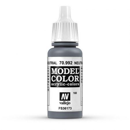 Vallejo 70992 Neutral Grey - 17 ml (Model Color) (160)