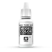 Vallejo 70993 White Grey - 17 ml (Model Color) (151)