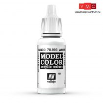 Vallejo 70993 White Grey - 17 ml (Model Color) (151)