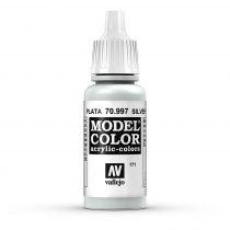 Vallejo 70997 Silver - 17 ml (Model Color) (171)