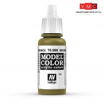 Vallejo 70998 Bronze - 17 ml (Model Color) (175)