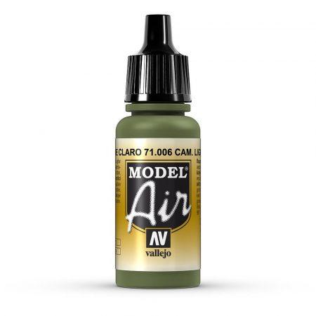 Vallejo 71006 Camouflage Light Green, 17 ml (Model Air)