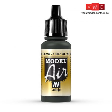 Vallejo 71007 Olive Green, 17 ml (Model Air)