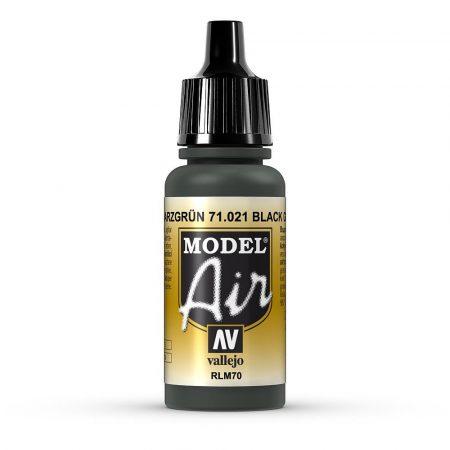 Vallejo 71021 Black Green, 17 ml (Model Air)