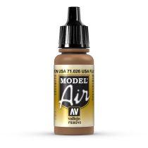 Vallejo 71026 US Flat Brown, 17 ml (Model Air)