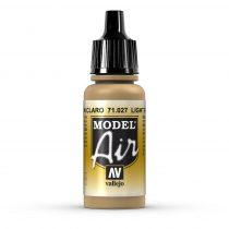 Vallejo 71027 Light Brown, 17 ml (Model Air)