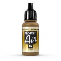 Vallejo 71032 Golden Brown, 17 ml (Model Air)