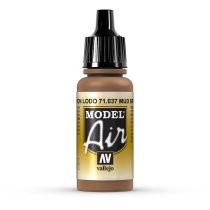Vallejo 71037 Mud Brown, 17 ml (Model Air)