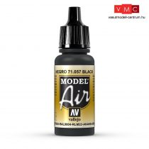 Vallejo 71057 Black, 17 ml (Model Air)
