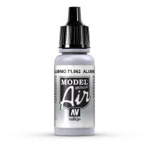 Vallejo 71062 Aluminium, Metallic, 17 ml (Model Air)