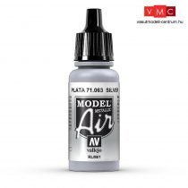 Vallejo 71063 Silver, Metallic, 17 ml (Model Air)