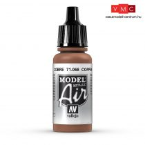 Vallejo 71068 Cooper, Metallic, 17 ml (Model Air)