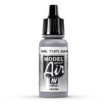 Vallejo 71072 Gungrey, Metallic, 17 ml (Model Air)