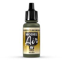 Vallejo 71092 Medium Olive, 17 ml (Model Air)