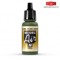 Vallejo 71094 Green Zinc Chromate, 17 ml (Model Air)