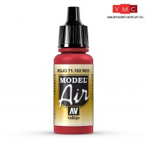 Vallejo 71102 Red, 17 ml (Model Air)
