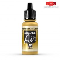 Vallejo 71107 US Interior Yellow, 17 ml (Model Air)