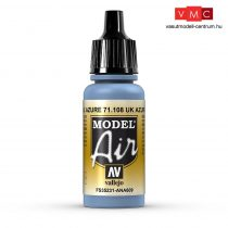 Vallejo 71108 UK Azure Blue, 17 ml (Model Air)