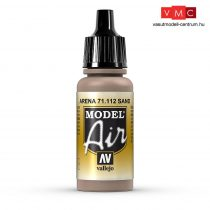 Vallejo 71112 Sand, 17 ml (Model Air)