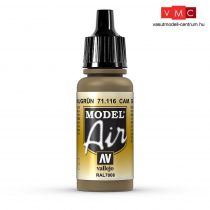 Vallejo 71116 Camouflage Gray Green, 17 ml (Model Air)