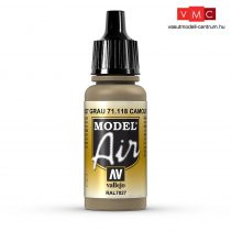 Vallejo 71118 Camouflage Gray, 17 ml (Model Air)