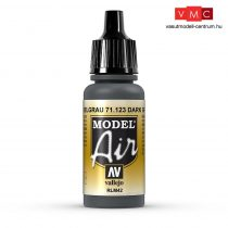 Vallejo 71123 Dark Gray RLM42, 17 ml (Model Air)