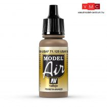 Vallejo 71125 USAF Brown, 17 ml (Model Air)
