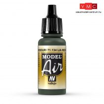 Vallejo 71134 IJA Midouri Green, 17 ml (Model Air)