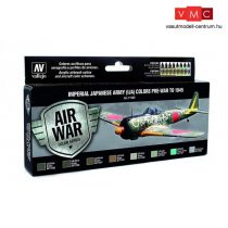 Vallejo 71152 Model Air Paint Set - Imperial Japanese Army (IJA) Colors Pre-War to 1945 (8 x 17