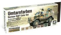Vallejo 71159 Model Air Paint Set - German ISAF Colours (8 x 17ml)