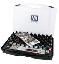 Vallejo 71170 Model Air Basic Range Box Set (72 colours + 3 brushes + carry case)