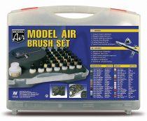 Vallejo 71172 Model Air - Basic Colours & Airbrush Set (29 x 17ml)