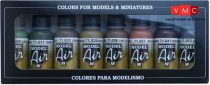 Vallejo 71175 Model Air Paint Set - WWII German Colors Set (8 x 17ml)