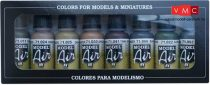 Vallejo 71177 Model Air Paint Set - Panzer Colors (8 x 17ml)