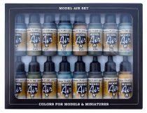Vallejo 71193 Model Air Paint Set - RLM Colors (16 x 17ml)