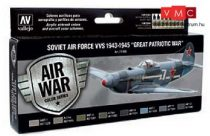 Vallejo 71198 Model Air Paint Set - Soviet Air Force VVS 1943 to 1945 Great Patriotic War (8 x