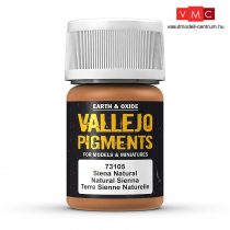 Vallejo 73105 Natural Sienna (pigment) - 30 ml (Panzer Aces)
