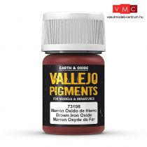Vallejo 73108 Brown Iron Oxide (pigment) - 30 ml (Panzer Aces)